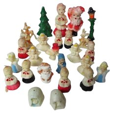 26 Vintage Gurley Christmas Candles - Big Variety