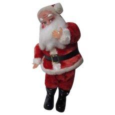 Vintage Musical Moving Plush Christmas Santa