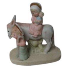 1986 Lefton Porcelain Figure - Christmas Flight to Egypt