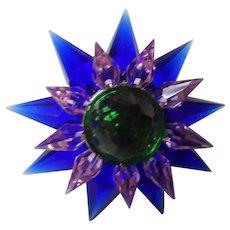 C-7 Illumibrite Matchless Star Xmas Light - Cobalt Pink Green - 900 Size