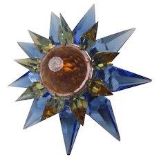 C-7 Illumibrite Matchless Star Xmas Light - Blue Amber Amber - 900 Size