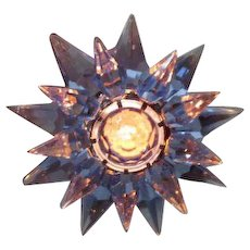 10 Aqua Aqua Cobalt C-6 Illumibrite Matchless Star Xmas Lights in Original Boxes