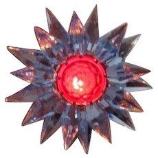 10 Blue Blue Red C-6 Illumibrite Matchless Star Xmas Lights in Original Boxes