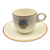 Palm Springs Aerial Tramway Demitasse Cup and Saucer Set