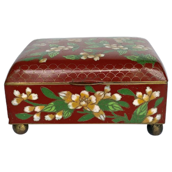 Cloisonne Box