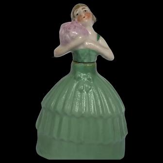 Circa 1890, German Figural Perfume Bottle.