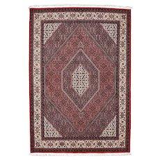 Fine Persian Bidjar Rug, 6'x8', Hand-Knotted