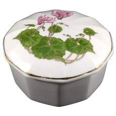 Cyclamen OTAGIRI Trinket Box, 3.75 in Diameter