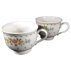 Set of two Noritake Versatone Coffee Cups