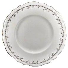 "Vintage Homer Laughlin Plate- ""Hudson"" -8 inch diameter"