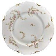 Plate marked Haviland Limoges France  - 8 inch diameter