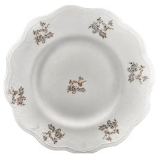 Salad Plate marked C.P.Co, Dixie --7.25 inch diameter