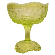 Flora Vaseline Opalescent Jelly Compote