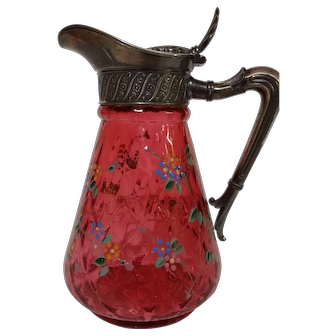 Cranberry Enameled Syrup - James Tufts