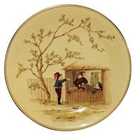 Royal Worcester Elf Decorated Plate