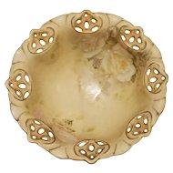 Royal Bayreuth Old Ivory Small Footed Bowl