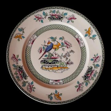 Malayda Lily Dinner Plate by Sampson Bridgwood of England
