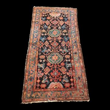 Beautiful and Unique Semi-antique Hamadan