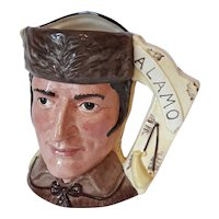 The Battle of the Alamo 1836 Royal Doulton Character Jug