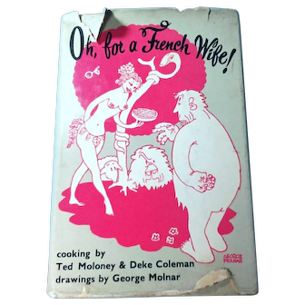 Oh For A French Wife Cookbook 1967