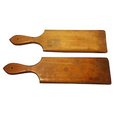 19th Century Wooden Butter Paddles Scotland