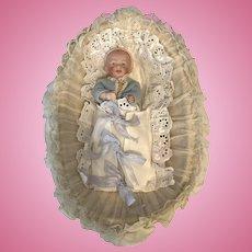 Antique All-Bisque  Kestner Baby Doll