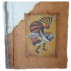Vintage Ben Diller Handcrafted Kokopelli Photo Album