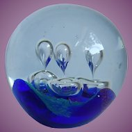 Dynasty Glass Gallery Heirloom Collection  Large Hand-blown Paperweight