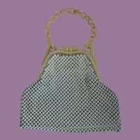 Vintage Whiting & Davis 1940's Alumesh Handbag/Purse