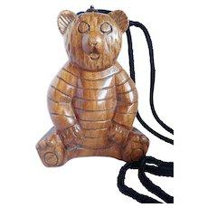 Timmy Woods Original Designs Honey Bear Handbag/Purse Beverly Hills Collection