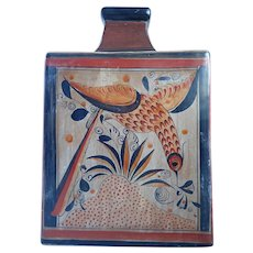 """Vintage Salvador Vasquez 12"""" Mexican Vase/Jar Master Among Masters Potter"""