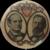 Antique 1896 Bryan & Kern Presidential Election Political Pinback