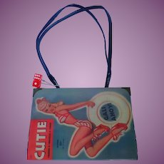 Vintage Pin Up Girl Magazine Purse/Handbag/Pocketbook