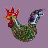 Fitz and Floyd Glass Menagerie Hen