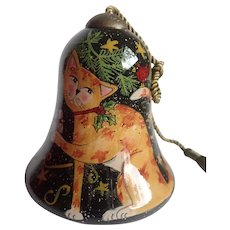 Retired Peace Cat Ornament NeQwa by Susan Winget