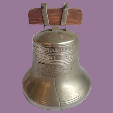 Vintage Advertising Liberty Bell Bank From The St. Augustine National Bank Florida