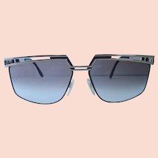 Vintage Cazal 1980's West Germany Designer Sunglasses and Case