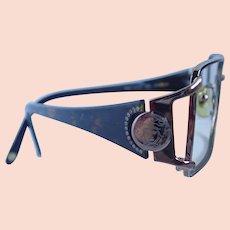 897b7a2f5663 Vintage CaViar Eyeglass Frames Jeweled Austrian Crystals Ladies ...