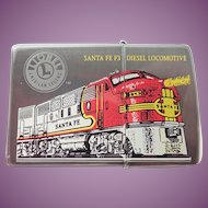 Vintage 1999 Zippo Lighter Santa Fe Diesel Locomotive Never Used
