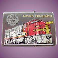 Vintage 1999 Zippo Lighter Santa Fe Diesel Locomotive Never Used