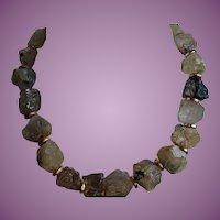 Vintage Elena Cantacuzène of Paris Rutilated Quartz Necklace