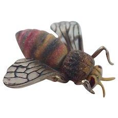 Vintage Unique Bumble Bee Pin/Brooch