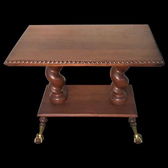 Merklen Ball & Claw Foot Table