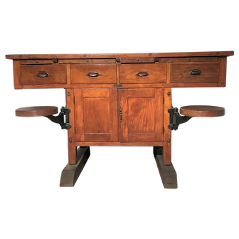 19TH Century Science Lab. Table