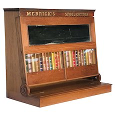 Merrick's Thread Spool Cabinet