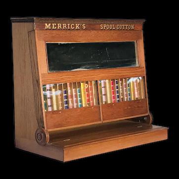 Merrick's Thread Spool Cabinet