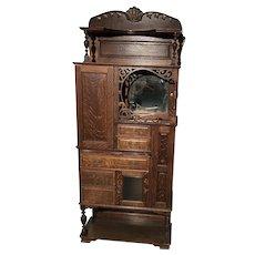 Dental Cabinet, Tiger Oak, model 75 by Ransom and Randolph
