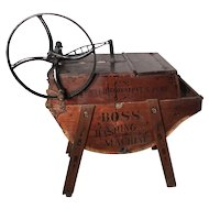 "19th Century ""BOSS"" Washing Machine"