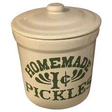 Vintage Pickle Crock