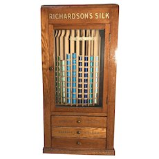 Richardson;s Revolving Thread Spool Cabinet